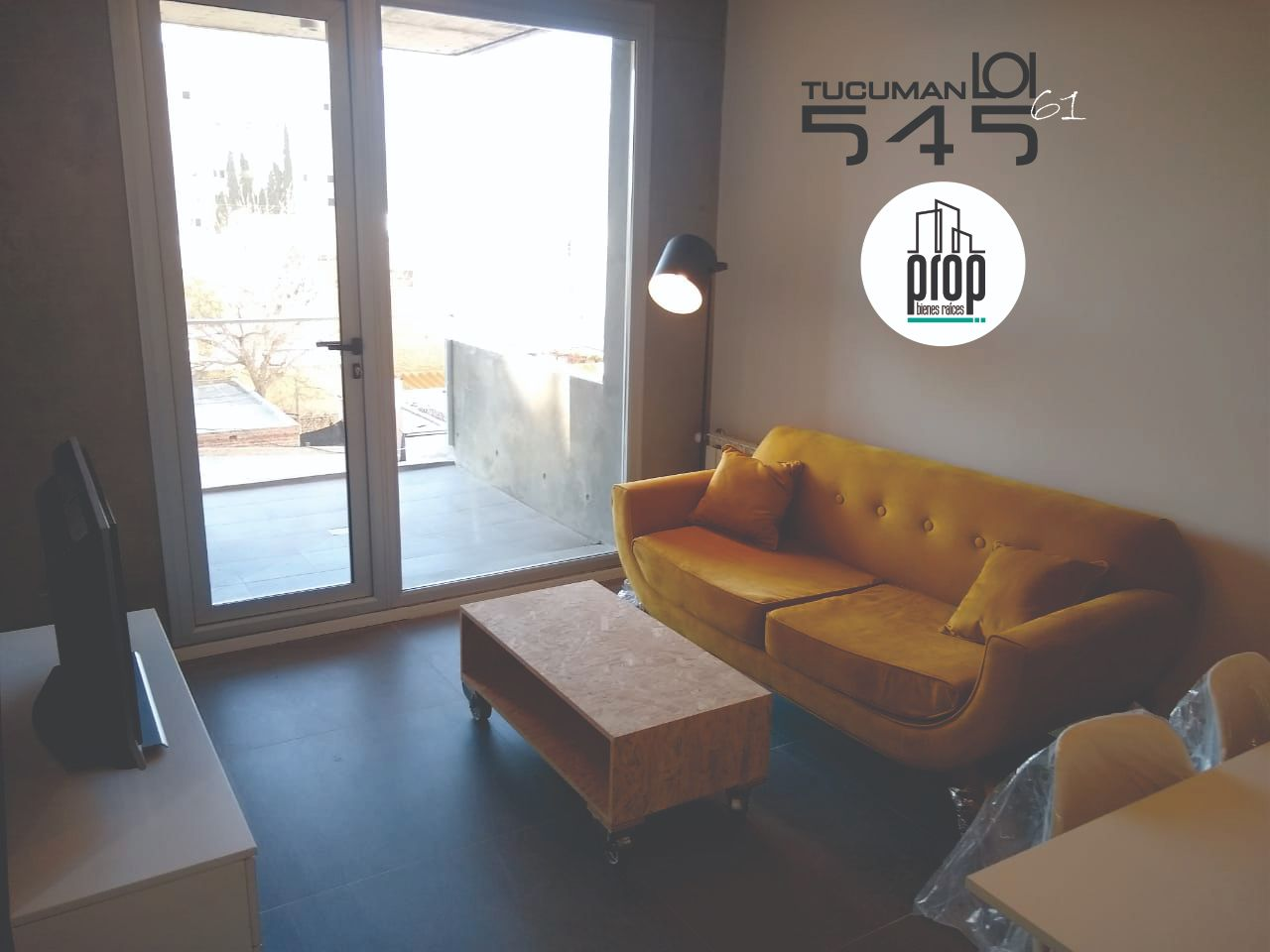 Departamento 1 dormitorio a estrenar   LOI 61 – Tucumán 545