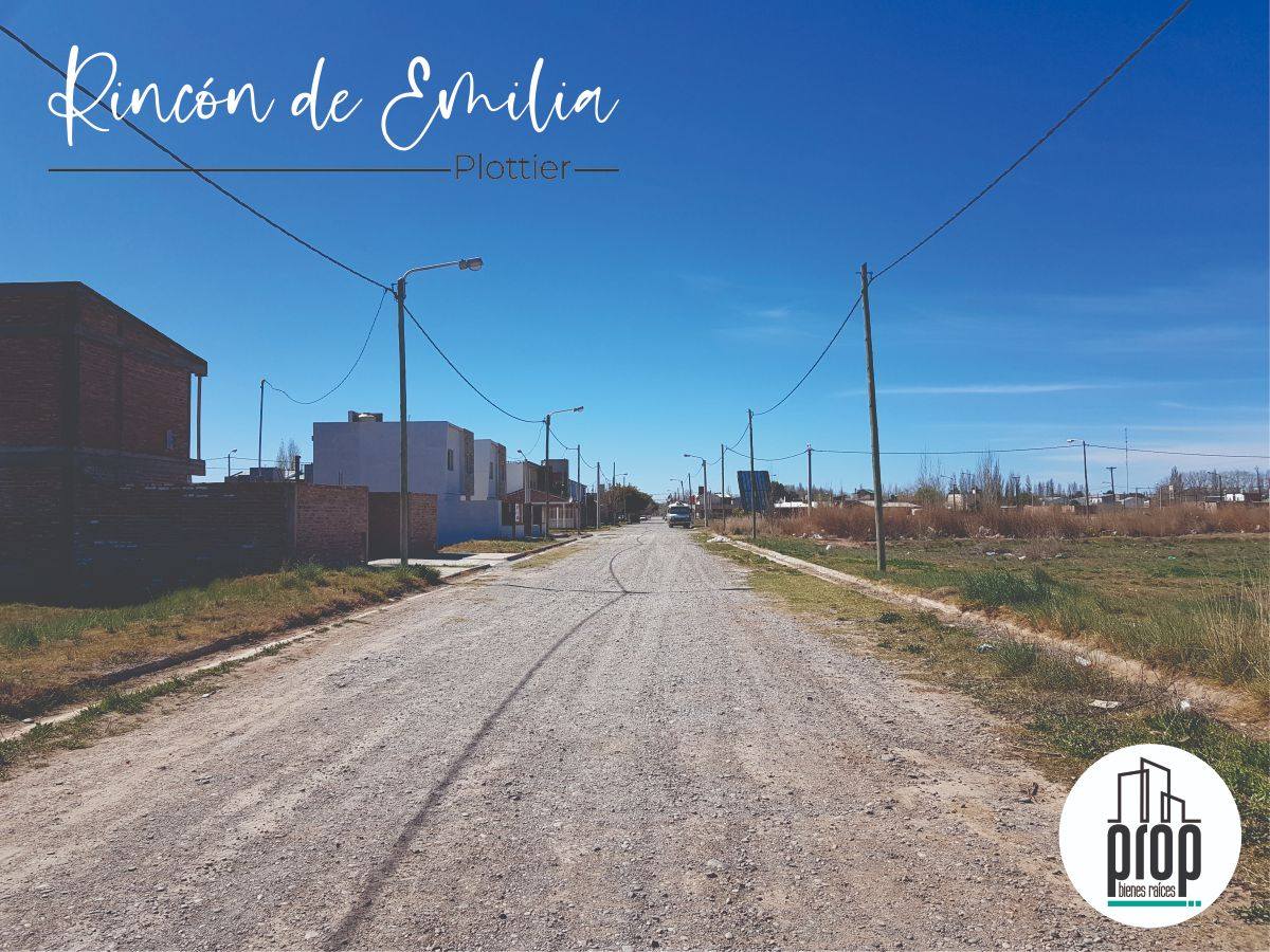 Terreno de 493 m2 en Rincón de Emilia | Plottier