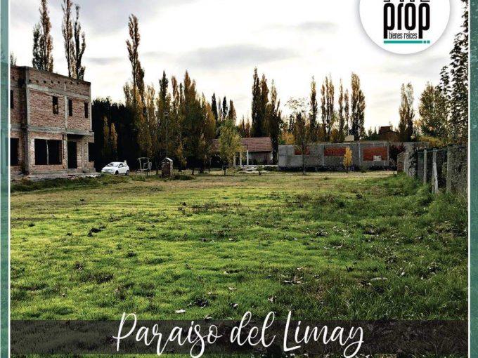 """Lote en venta de 1000m2 ubicado en barrio cerrado """"Paraiso del Limay"""" Plottier"""