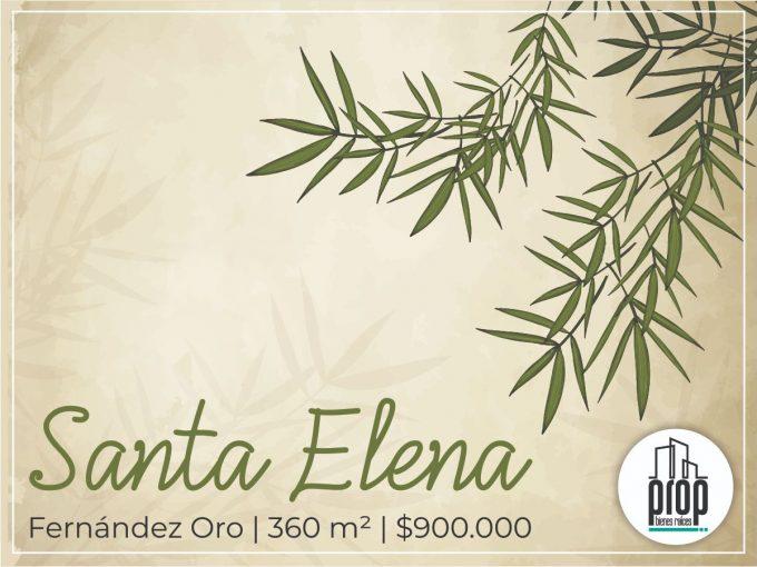 Lote en Santa Elena Fernández Oro