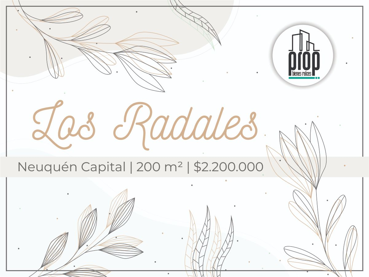 Loteo Los Radales | Neuquén Capital